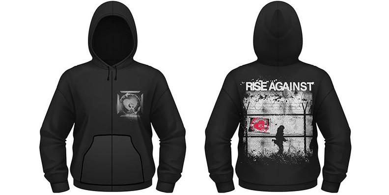 Rise Against Shirts Rise Against Borders
