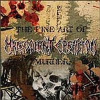 Malevolent Creation: Fine art of murder -digipak