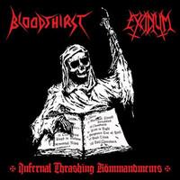 Excidium: Infernal Thrashing Kömmandments -split