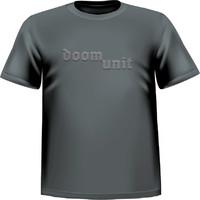 Doom Unit: Logo kohopainatus