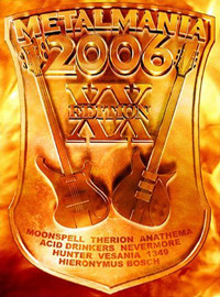V/A : Metalmania 2006 (dvd & cd)