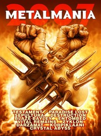 V/A : Metalmania 2007 (dvd & cd)
