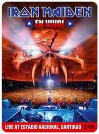 Iron Maiden : En vivo! - Live at estadio nacional, Santiago -limited edition steelbook