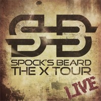 Spocks Beard: The X tour - live -limited digipak 2cd+dvd