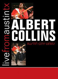 Collins, Albert : Live from Austin TX -cd+dvd