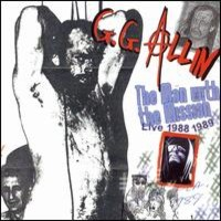 Allin, G.G. : Man with the Mission - Live