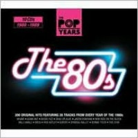 V/A : The pop years: the 80s (slim pack 10 cd)