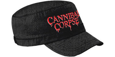 Cannibal Corpse: Logo army cap