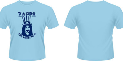 Zappa, Frank: Zappa for president (blue)