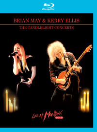 May, Brian: The candlelight concerts - live at montreux 2013 -2xblu-ray+cd