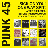 V/A: PUNK 45: Sick On You! One Way Spit! After The Love & Before The Revolution Vol.3: Proto-Punk 1969-77