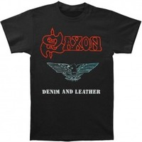 Saxon : Denim & Leather