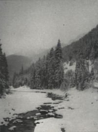 Paysage d'Hiver : Kristall & isa