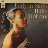 Holiday, Billie : Lady in satin