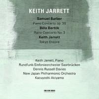 Jarrett, Keith: Piano Concertos - Bartok/Barber