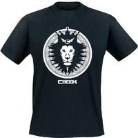 Cheek: Leijona lasten t-paita musta