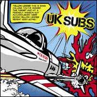 Uk Subs Yellow Leader Record Shop X