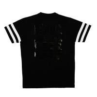 Rähinä: Stripes t-paita [musta]