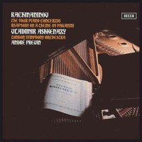 Previn, Andre: Piano concertos + rhapsody on a theme of Paganini