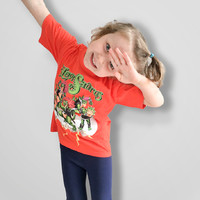 Hevisaurus: Salama oranssi lasten t-paita