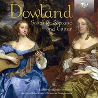 Dowland, John: Songs for soprano  guitar