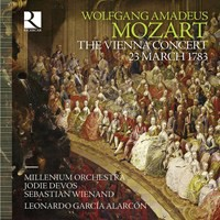 Mozart, Wolfgang Amadeus: The Vienna concert