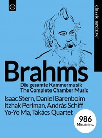 Brahms, J.: Classic Archive Collector's Edition Johannes Brahms – Complete Chamber Music