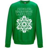 Star Wars: Vader snowflake (green)