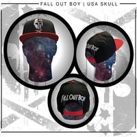 Fall Out Boy: Usa skull