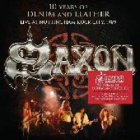 Saxon: Ten years of denim and leather - Live at Nottingham rock city 1989