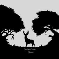 Deer Tracks: Aurora