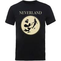 Disney: Peter pan moon silhouettes