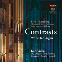 Kaipainen, Jouni: Contrasts: works for organ