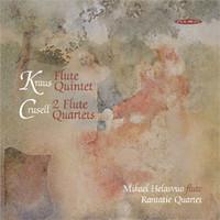 Crusell, Bernhard: Flute quartets