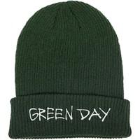 Green Day: Label flip beanie