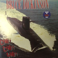 Dickinson, Bruce: Dive! Dive! Dive! -poster sleeve-