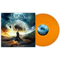 Iron Savior: The landing (clear orange vinyl)