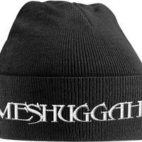 Meshuggah: White logo