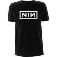 Nine Inch Nails: Classic white logo