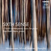 Marin, Risto-Matti: Sixth sense -Finnish contemporary music for piano