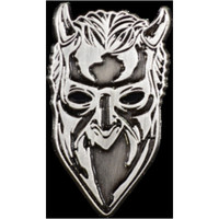 Ghost (SWE): Ghost Nameless Ghoul Antique Nickel Enamel Pin
