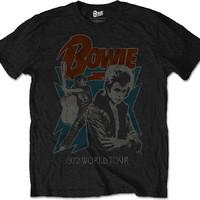 Bowie, David: 1972 World Tour