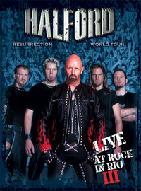 Halford : Resurrection world tour - Live at rock in rio III -digipack dvd+cd-