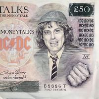 AC/DC: Moneytalks -poster sleeve-