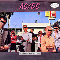 AC/DC: Dirty Deeds Done Dirt Cheap -Japanese promo-