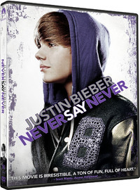 Bieber, Justin: Never say never