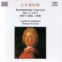 Bach, Johann Sebastian: Brandenburg concertos 1-3