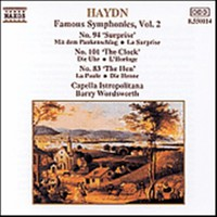 Haydn, Joseph: Symphony 83, 94 & 101