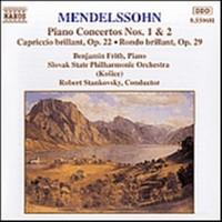 Mendelssohn, Felix: Piano concertos 1 & 2