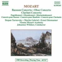 Mozart, Wolfgang Amadeus: Bassoon, oboe & clarinet concerto